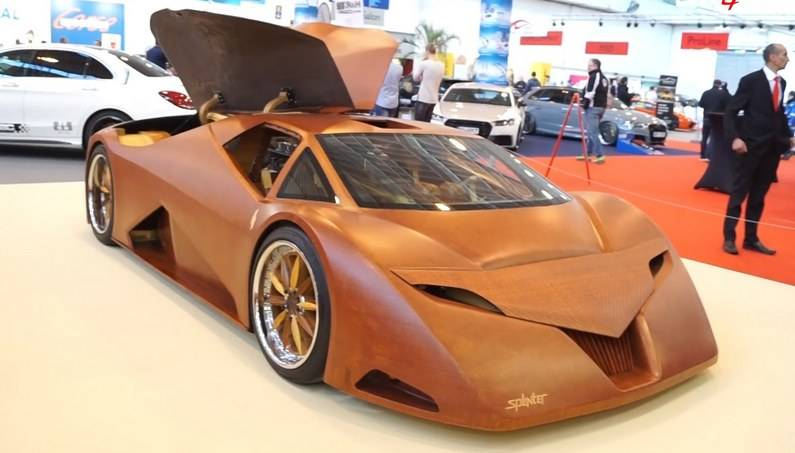 SPLINTER –  The 700bhp Supercar Made Out Of Wood