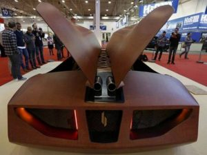 SPLINTER 600 HP Super car made of wood-2