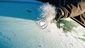 How to clear Ice without scraping Windshield on your Car