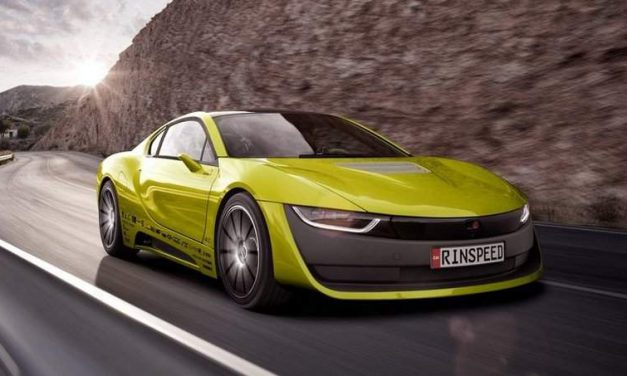 Rinspeed Etos Is a Self-Driving Concept based on BMW i8 and Comes with a Drone!