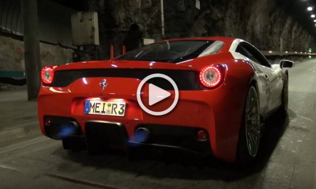 The Loudest Ferrari 458 Italia Speciale with the Awesome Fi Exhaust System