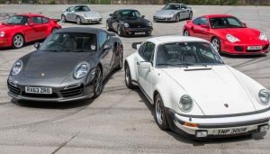 Porsche 911 Turbo-all generations