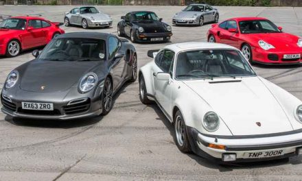 The Evolution of Porsche 911 from 1964 Until Today
