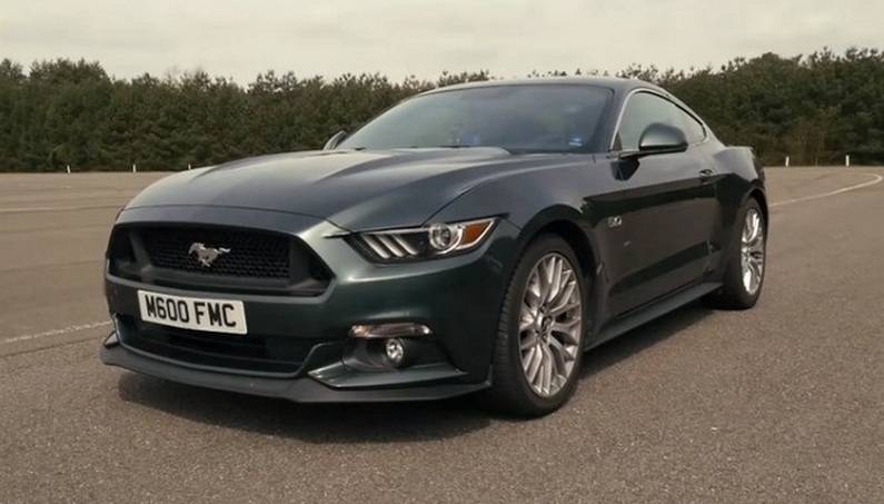 Ford Mustang 5.0 V8 0-100 Speed