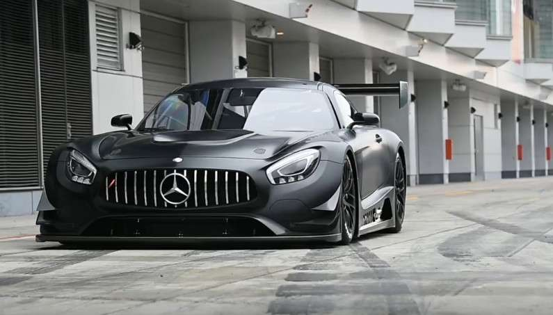 Black Knight Mercedes-AMG GT RR in Action! VIDEO