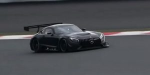 Mercedes-AMG-GT-RR on race track