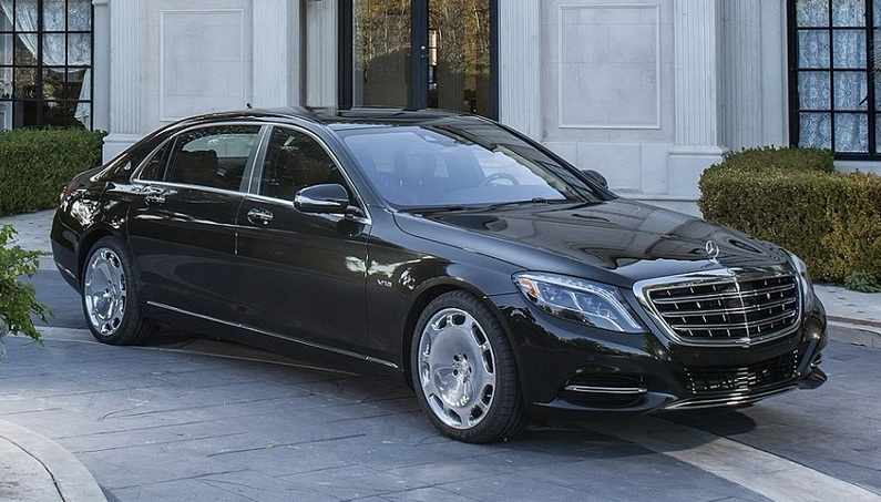Mercedes Benz S 600 Named By Maybach Daimler Luxury Brand