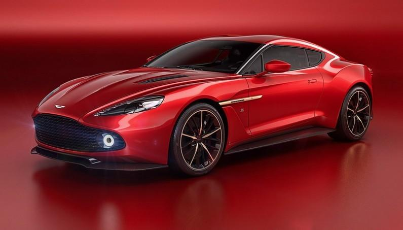 Aston Martin Vanquish Zagato- Unique Sports Concept