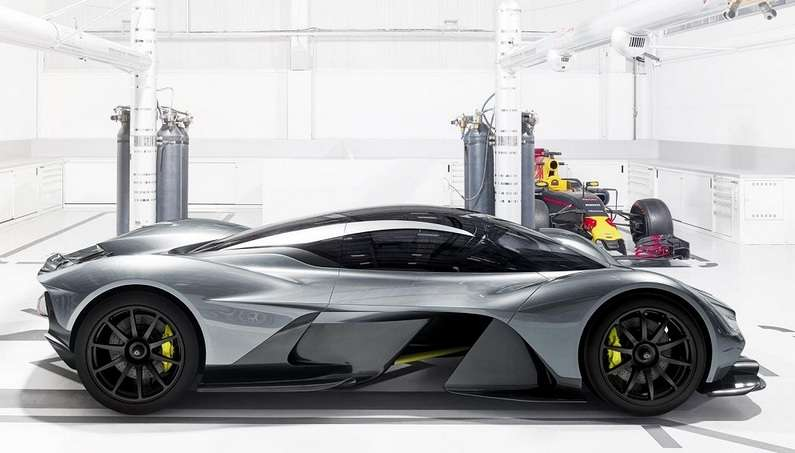 Aston Martin and Red-Bull AM RB 001-03