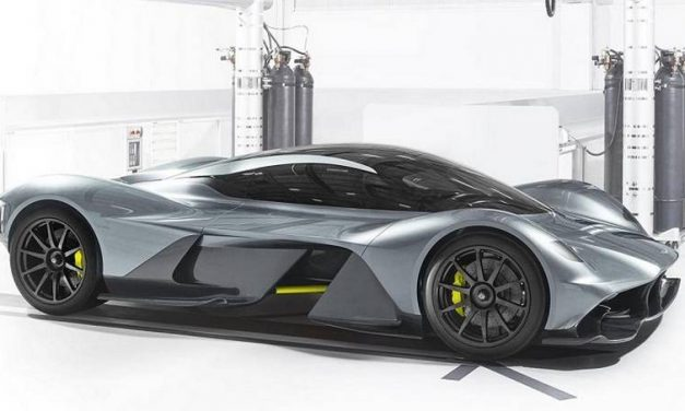 Aston Martin and Red Bull's Racing Beast AM-RB 001 Comes In 2018