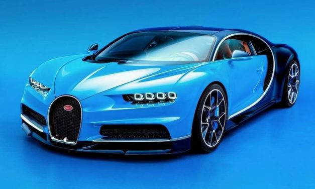 8 Jaw-Dropping  Facts About the New Bugatti Chiron