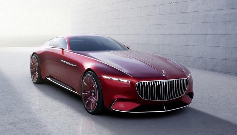 Mercedes Maybach Vision 6 – Classic design, Latest Technology and Electric Drive in a Luxury Car