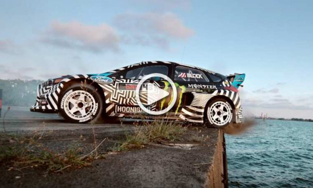GYMKHANA 9: The World's Craziest Driver Ken Block In Action With His Ford Focus RS