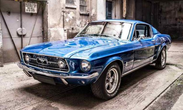 Unique Mix of Classic and Modern: 1967 Mustang Fastback by Carlex Design