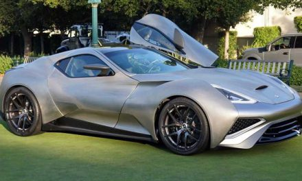 Vulcano Titanium Is World's First and Only Titanium Supercar
