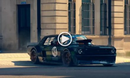Ken Block's Shredding Tires Around London – VIDEO