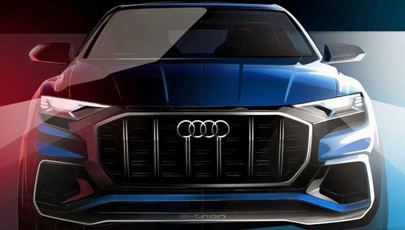 New Audi Q8 Luxury SUV is To Be Revealed at Detroit Motor Show 2017