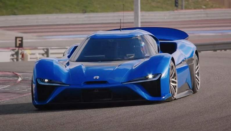 NIO EP9 – The Fastest Electric Supercar in Nurburg
