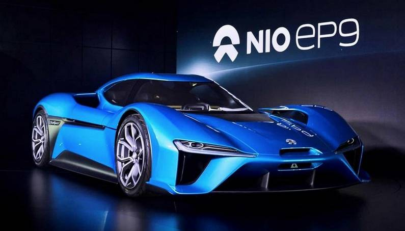 nio ep9 the fastest electric supercar-photo