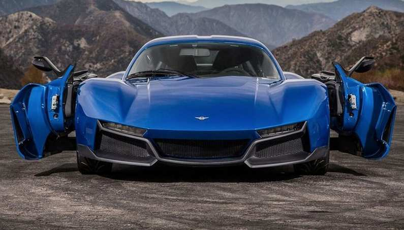 Most Unique Supercar Doors even Seen-REZVANI, the Beast Named ALPHA!