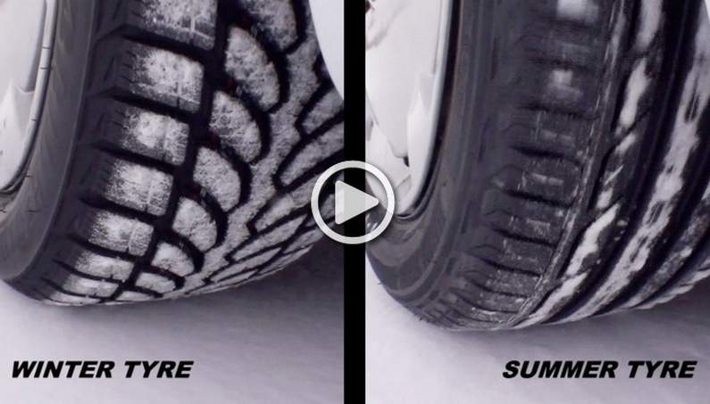 Differences Between Summer Tires and Winter Tires