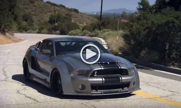 Is This Modified Ford Mustang Shelby GT500 with 1000HP, better than a Veyron? VIDEO