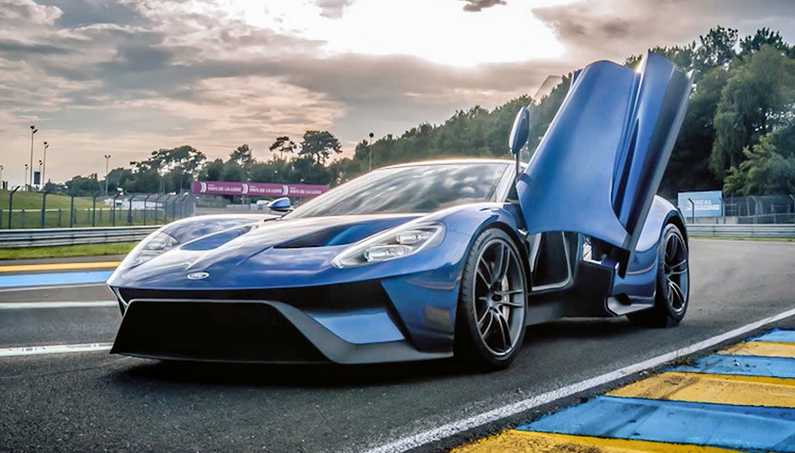 The  Ford Gt Supercar Is Coming With More Than Hp