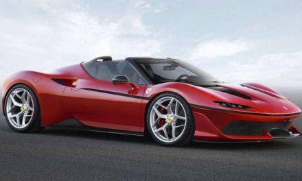 Ferrari J50-the 488 Spider-based Car Lands Out of the Blue!