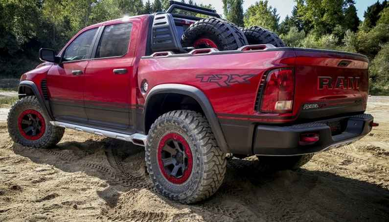 The Hellcat-Powered Ram Rebel TRX Concept Dazzled Everyone!