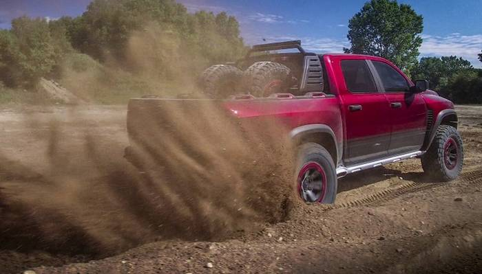 Wonderful The HellcatPowered Ram Rebel TRX Concept Dazzled Everyone