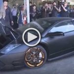Illegally Imported Lamborghini Destroyed by the Taiwanese Government