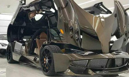 Manny Khoshbin's Latest Beauty: the One-Of-A-Kind Pagani Huayra Hermes Edition