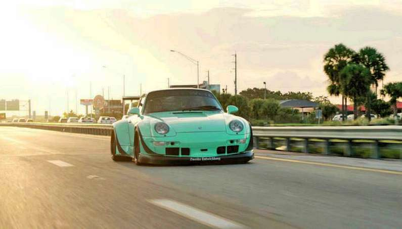 "RWB's ""Fighting Knight"" Porsche is Something You Honestly Can't Miss"
