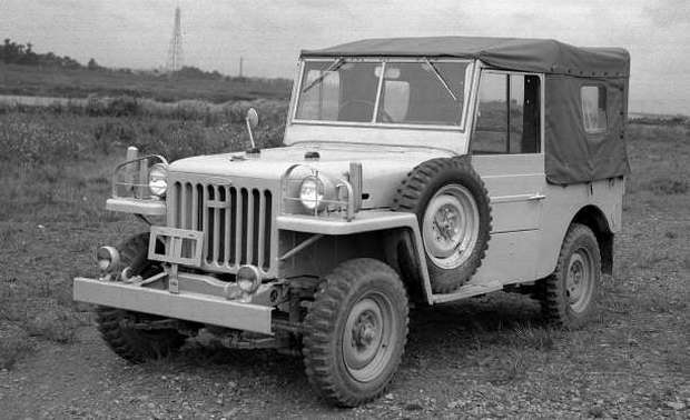 TOYOTA LAND CRUISER -1951