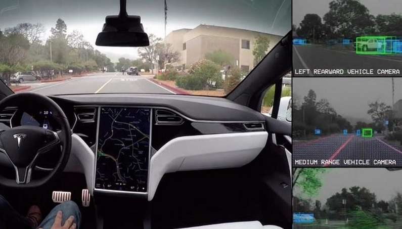 Tesla Autopilot new radar technology predicts an accident