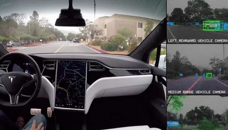 Tesla's Autopilot is not a Psychic, but It Does Predict an Accident Before It Happens…Dashcam Video!