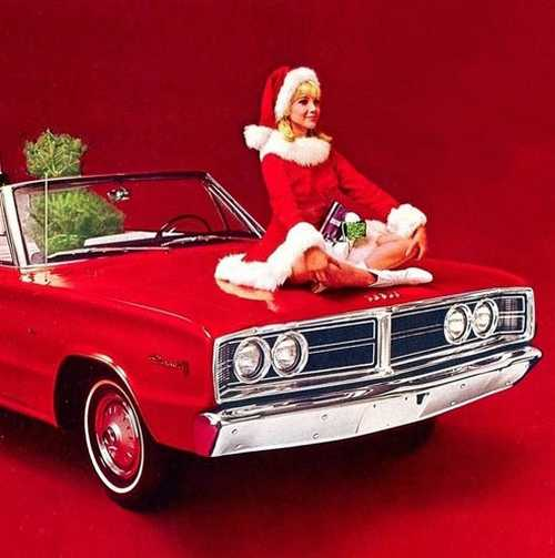 dodge-girl santa photo