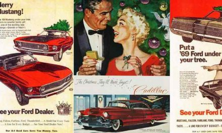 Vintage Muscle Car Ads for a Merry Automotive Christmas