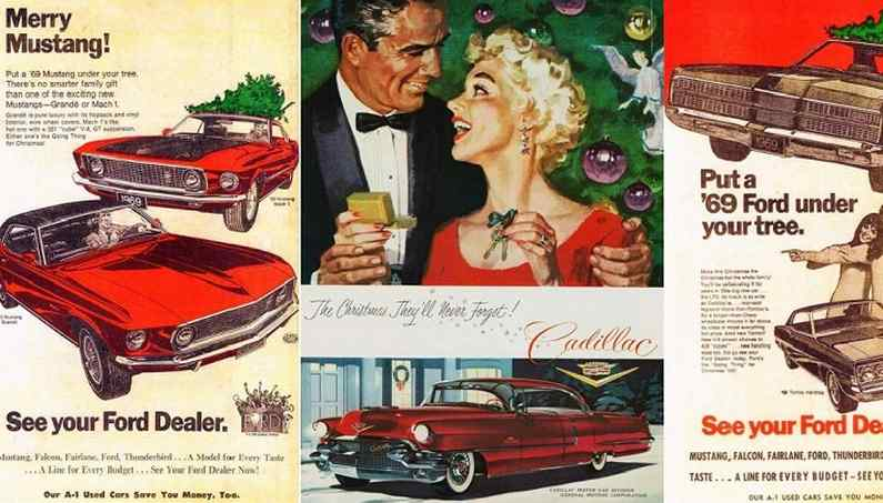 Vintage Muscle Car Ads For A Merry Automotive Christmas Super Cars
