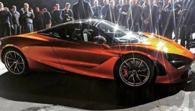 Sneak Peek at 2018 McLaren (P14) 720S