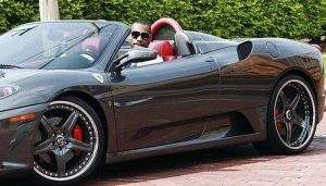 LeBron James - Ferrari F430