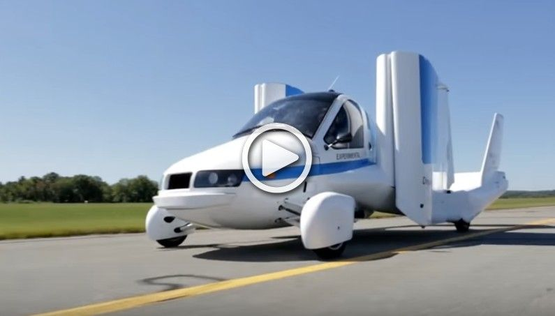 4 Real Flying Cars That Actually Fly!