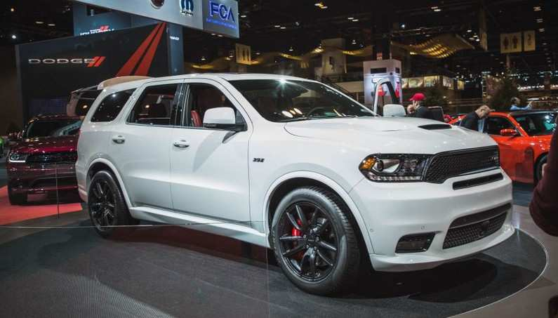 America S Fastest 3 Row Suv 2018 Dodge Durango Srt