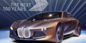 BMW Vision Next 100 Concept front side view