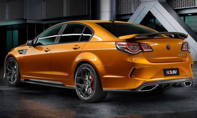 HSV's LS9-Powered 636 Horsepower Chevy SS of Mad Max proportions