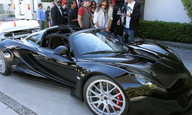 Steven Tyler's Hennessey Venom GT Spyder raised $800K for charity at Barrett-Jackson