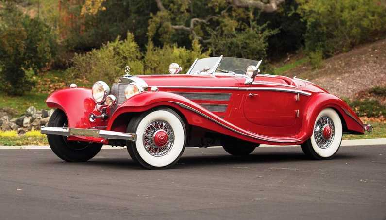 1937 Mercedes-Benz 540K Special Roadster