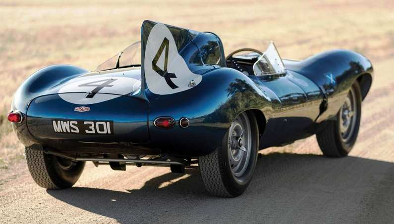 1955 Jaguar D-type Roadster