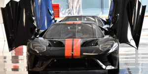 2017 Ford GT-production-front doors open-6