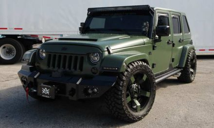 Avorza Jeep Wrangler Brutal Baf Edition by Alex Vega